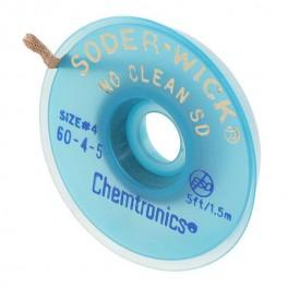 TRESSE A DESSOUDER NO CLEAN 2,8MMX1,5M BLEU /25PCS